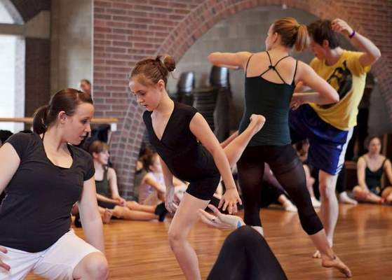 Master classes include dance making/composition on Saturday. It is one of the classes available for people of all abilities.