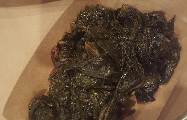 Collard greens from Soul Pig BBQ in Decatur.