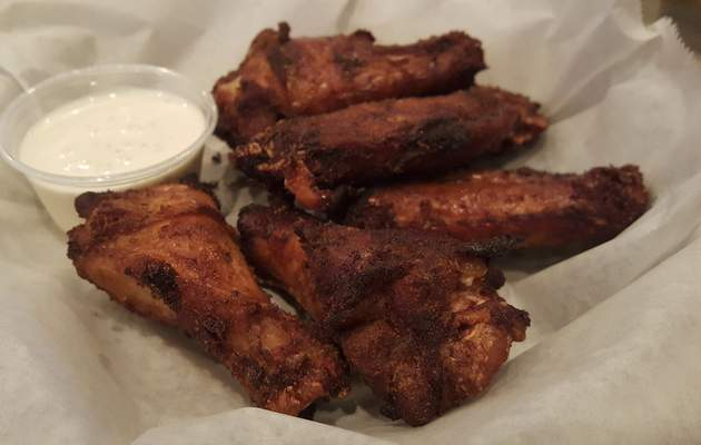 Smoked chicken wings from Soul Pig BBQ in Decatur.