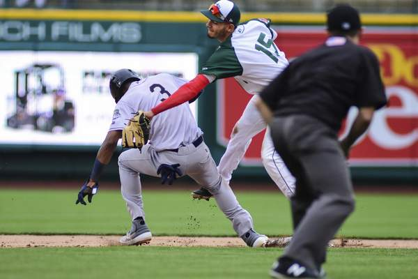 Mike Moore | The Journal Gazette  The TinCaps meet the Quad Cities River Bandits at Parkview Field.