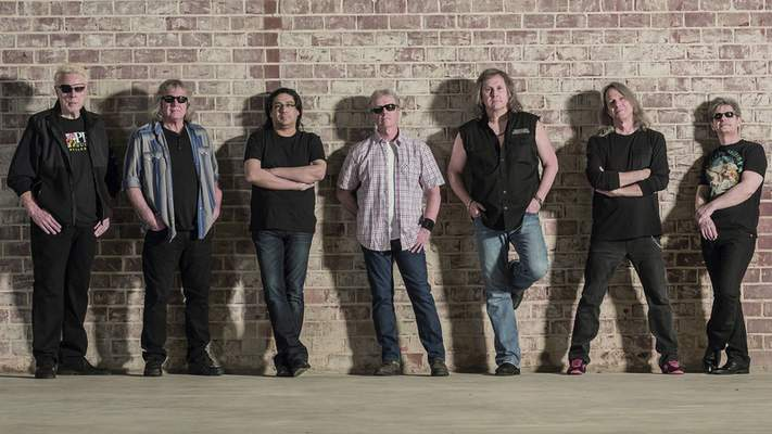 Courtesy  Kansas will perform Saturday at Foellinger Theatre.