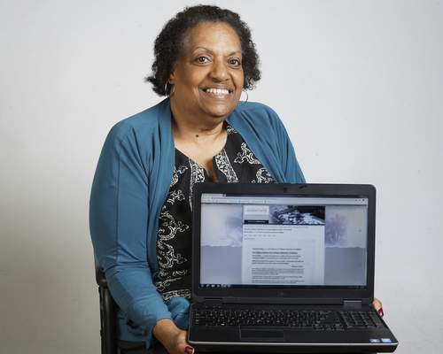 Photos by Mike Moore | The Journal Gazette Marsha Smiley has taken her love of history to chronicle achievements of northeast Indiana black residents.