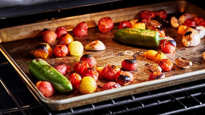 Meats aren't the only food you can broil, try vegetables and fruit as well.