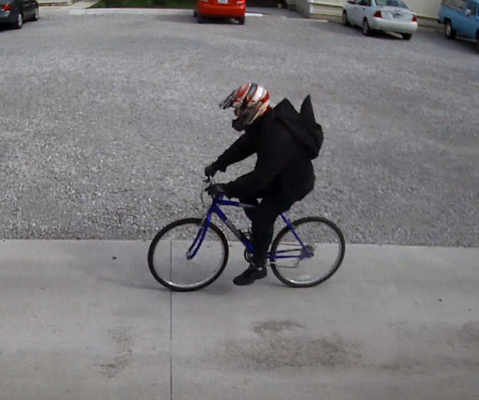 Courtesy Fort Wayne Police Department:  Fort Wayne police are seeking the public's help in identifying the person in this photo, who is a suspect in the Friday shooting on St. Joe Boulevard.