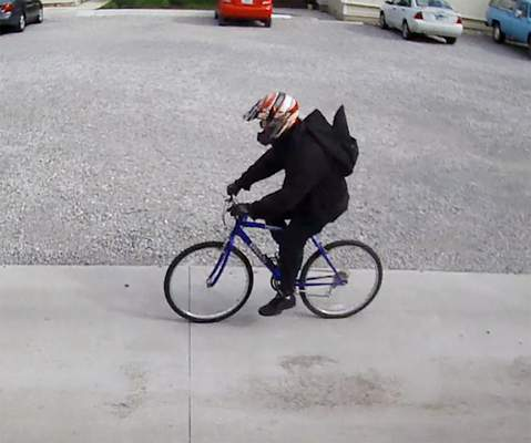 Courtesy Fort Wayne Police Department Police are searching for the man in this photo.