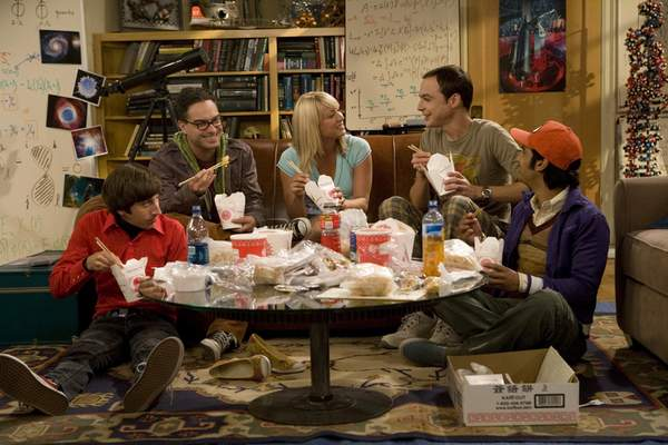 """CBS The original cast as seen in the first season of """"The Big Bang Theory."""""""