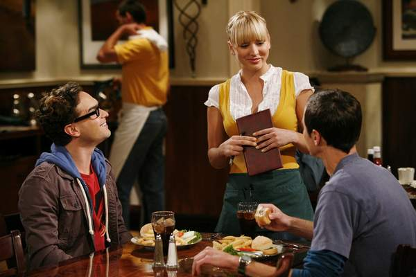 CBS  In the early seasons of The Big Bang Theory, the gang often dined at The Cheesecake Factory where Penny was a waitress.