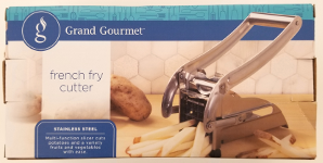 Recalled Grand Gourmet french fry cutter - packaging.