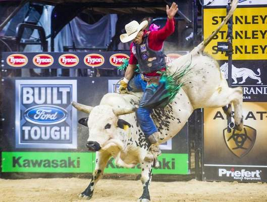 Courtesy Top bull riders will compete today and Saturday as part of the PBR Bull Fest at the Michiana Event Center in Shipshewana.