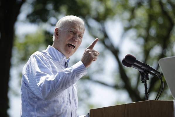 Associated Press Democratic presidential candidate Joe Biden's light public schedule shows his campaign relying on early favorable ratings and name recognition.