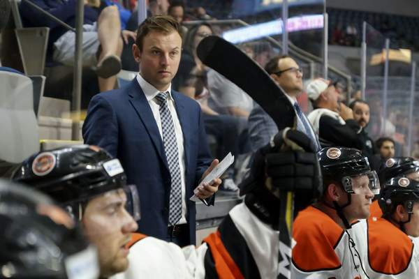 Mike Moore | The Journal Gazette: Ben Boudreau, who spent two years as an assistant coach for the Fort Wayne Komets, has been named the team's head coach.