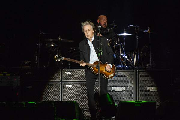 Associated Press Paul McCartney will perform at Memorial Coliseum on Monday.