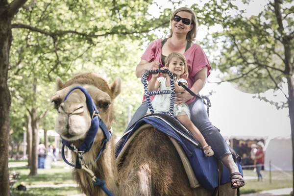 File Arab Fest happens Saturday and Sunday at Headwaters Park with music, food, an Arabian princess and camel rides.