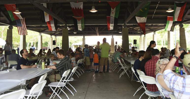 Katie Fyfe | The Journal Gazette Arab Festival is held at Headwaters Park in Fort Wayne on Saturday, June 1st, 2019. The festival includes music, dancing, camel rides, a children's area, henna, vendors and food from local restaurants.