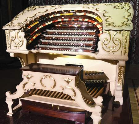 The pipe organ was installed in 1928.