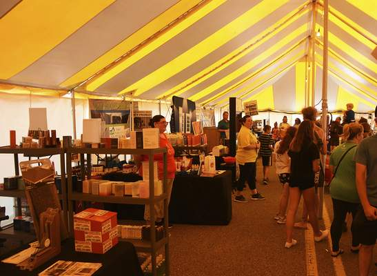 Katie Fyfe | The Journal Gazette  The Canal Days Festival was full of vendors, rides and a food alley in New Haven on Saturday.