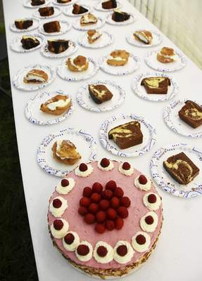 Katie Fyfe | The Journal Gazette  The 18th annual Germanfest Bake Off is held at Headwaters Park on Sunday.