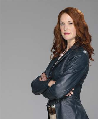 """Ovation Lauren Lee Smith stars in """"Frankie Drake Mysteries,"""" which debuts Saturday on Ovation."""