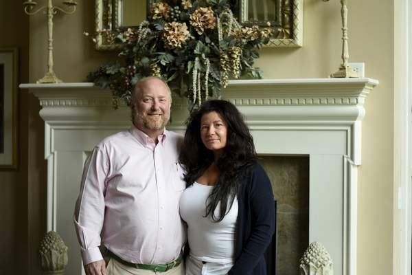 Katie Fyfe   The Journal Gazette  Author R.C. Sproul with his wife Lisa Sproul in their home in Fort Wayne. R.C. Sproul has a new book called Growing Up with R.C.