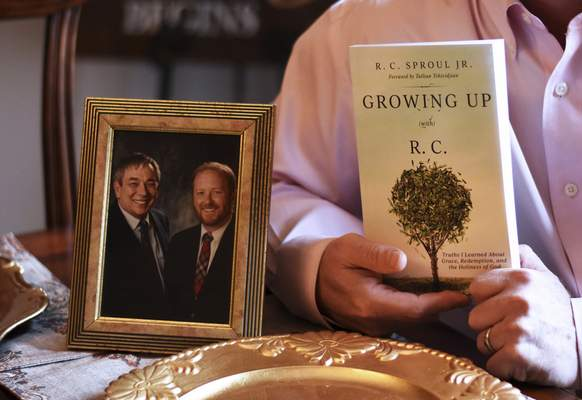 """Now living in Fort Wayne, Sproul says """"Growing Up (with) R.C."""" helped him make good use of his failures."""