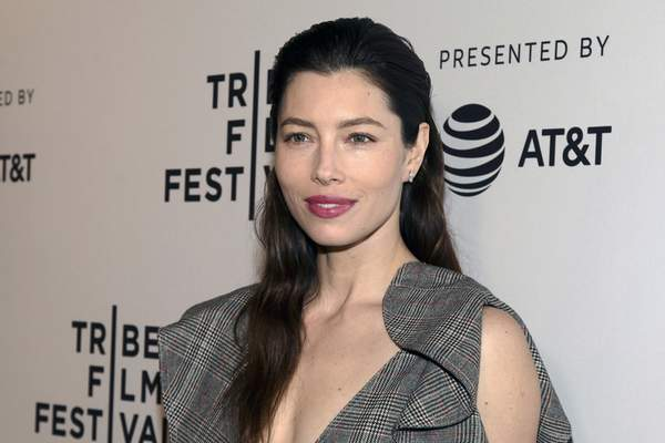 FILE - In this April 25, 2017 file photo, Jessica Biel attends the screening of