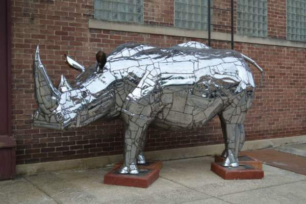 """Courtesy """"Harvey"""" was the people's choice winner last year from the Decatur Sculpture Tour."""