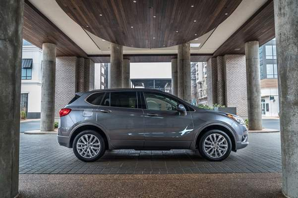 Courtesy Buick: The 2019 Buick Envision, which is made in China, is an excellent luxury crossover that is subject to tariffs. Reviewer Casey Williams says the vehicle is competitive with five other luxury crossovers.