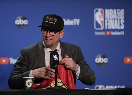 Associated Press Raptors coach Nick Nurse won championships in Europe and in what is now the G League before winning the NBA crown Thursday.