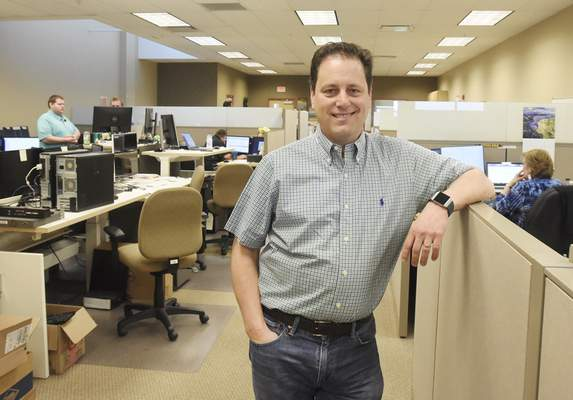 Rachel Von | The Journal Gazette Ralph Marcuccilli, founder and CEO of Allied Payment Network, says his company's goal is to make the lives of bank customers easier.