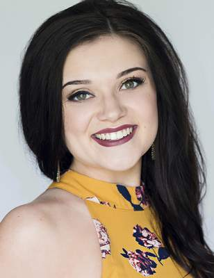 Courtesy  Lydia Tremaine represented Indiana in the Miss America pageant. Her term as Miss Indiana ended on June 15.
