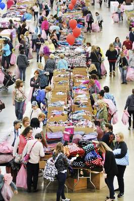 File  The annual Vera Bradley Outlet sale draws thousands to Fort Wayne each spring.