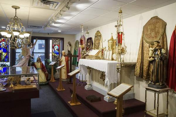Following its relocation in March, Diocesan Museum is able to display 40 additional items.