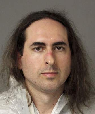 FILE - This June 28, 2018, file photo provided by the Anne Arundel Police shows Jarrod Ramos in Annapolis, Md. (Anne Arundel Police via AP, File)