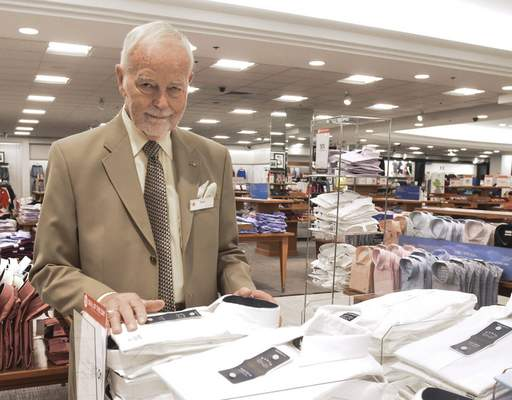 Michelle Davies | The Journal Gazette Terry Werling, New Haven City Councilman, works at Macy's in the men's department. Werling, at 80 years old, is one of the longest serving elected officials in the county.
