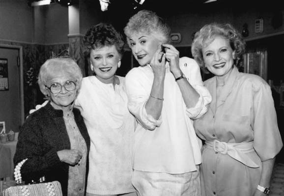 Associated Press This Dec. 25, 1985 file photo shows the stars of the television series