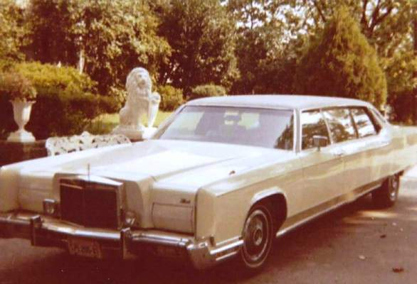 This photo provided by GWS Auctions shows a personal stretch limousine that belonged to Elvis Presley. Kruse GWS Auctions said the limousine and other items will be part of its Artifacts of Hollywood auction on Aug. 31, 2019. (GWS Auctions via AP)