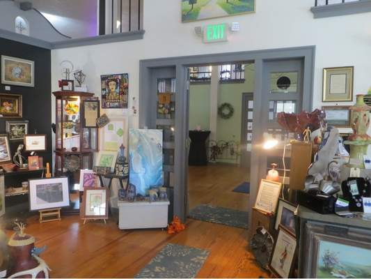 Courtesy Expressions Gallery displays regional artwork of all kinds at the Auburn Atrium MarketPlace in Auburn.
