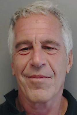 FILE - This July 25, 2013, file image provided by the Florida Department of Law Enforcement shows financier Jeffrey Epstein. (Florida Department of Law Enforcement via AP, File)