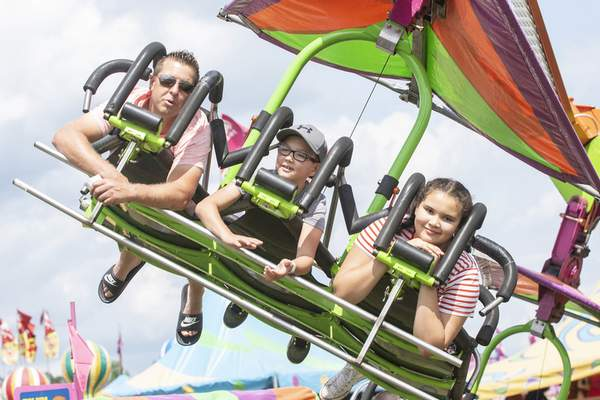 File The Allen County Fair, which features animal showings, food and rides, begins Tuesday at the fairgrounds on Carroll Road.