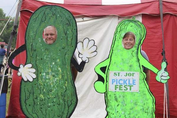 Courtesy The St. Joe Pickle Festival includes all things pickle in downtown St. Joe today and Saturday.