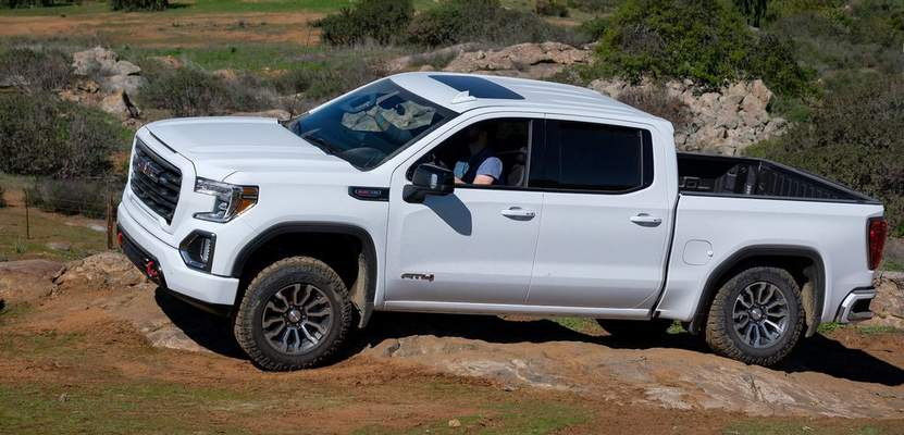 Courtesy GM: If you want a fully packed, off-road capable luxury truck, you'd do no better than the 2019 GMC Sierra AT4, reviewer Casey Williams says.