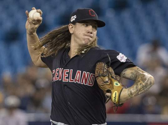 Associated Press Indians starter Mikel Clevinger gave up three runs on five hits over seven innings Monday to help Cleveland improve to 13-3 in July. Clevinger in 3-0 in four July starts with a 1.88 ERA.