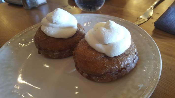 Tres Leches Donuts from Solbird Kitchen on Dupont Road.