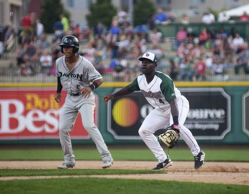 Katie Fyfe | The Journal Gazette  The TinCaps and Dayton Dragons meet today for the second game in a three-game series at Parkview Field. First pitch is at 3:05 p.m.