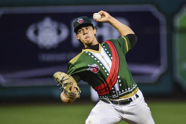 Photos by Mike Moore | The Journal Gazette TinCaps left-hander Joey Cantillo started Monday night's series finale against the Dayton Dragons.