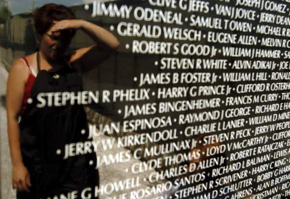 File The Moving Wall Vietnam Veterans Memorial will be at Kelly Park in Rome City from Thursday through Aug. 12.