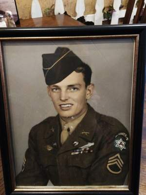Robert Egli served with an elite Army special forces unit in World War II, and the medals he earned were lost. (Courtesy Sandy Dillinger)