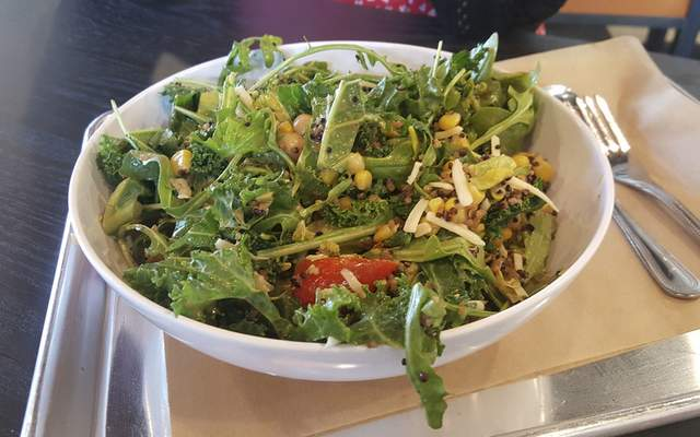 Greens and Grains Bowl from CoreLife Eatery on Coliseum Boilevard.