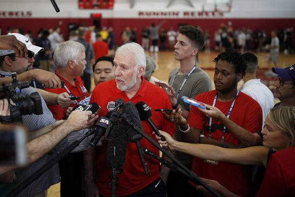 Associated Press USA coach Gregg Popovich has less than two weeks of training camp to finalize his roster for the FIBA World Cup, which starts Aug. 31 in China.