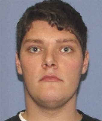 File-This undated file photo provided by the Dayton Police Department shows Connor Betts. The Justice Department says a friend of Betts is being charged with lying on federal firearms forms. (Dayton Police Department via AP, File)